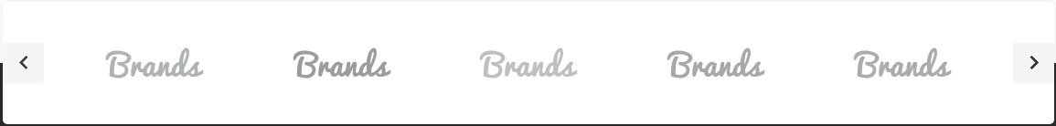 Home page - Brands Carousel