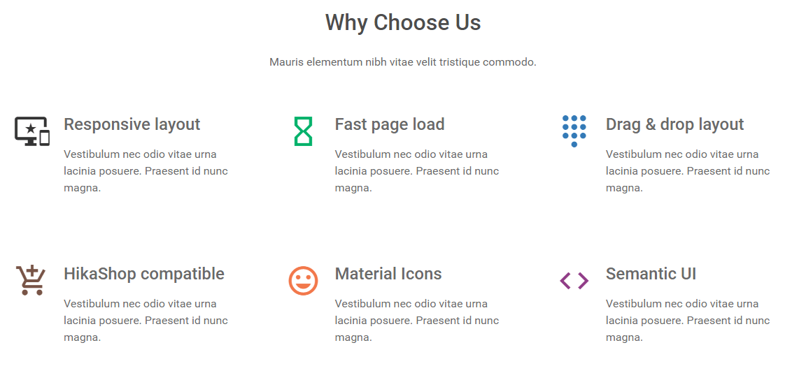 Home page - Why Choose Us