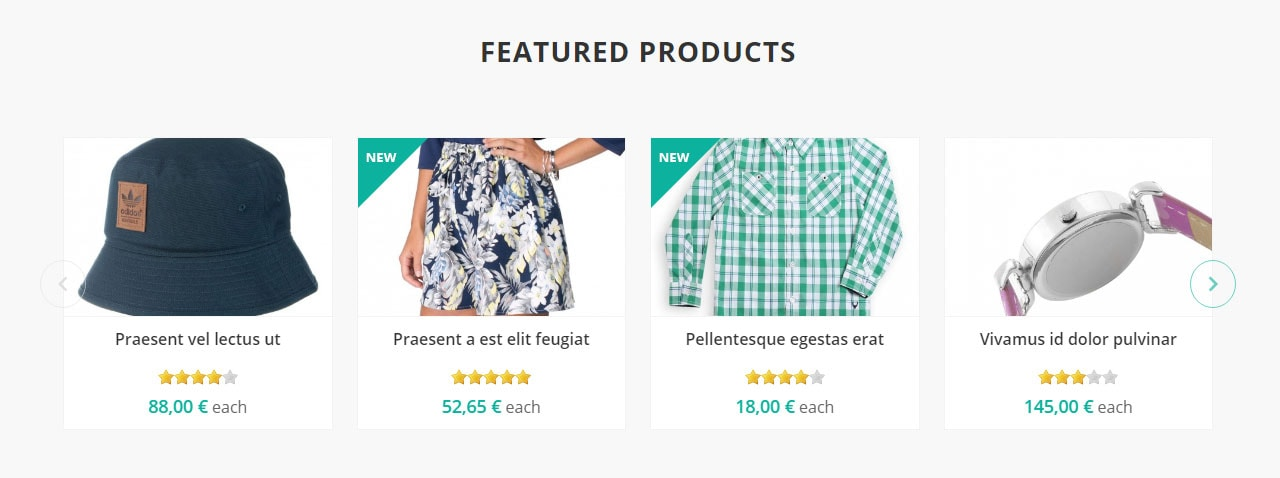 Home page - Featured Products