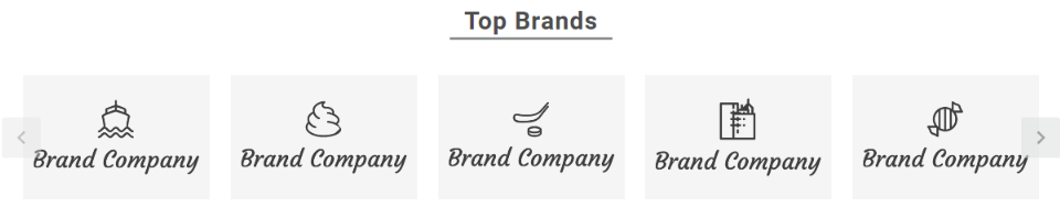 Home page - Top Brands