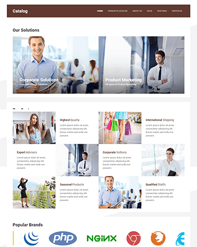 Catalog (Joomla) - Product catalog template for Joomla