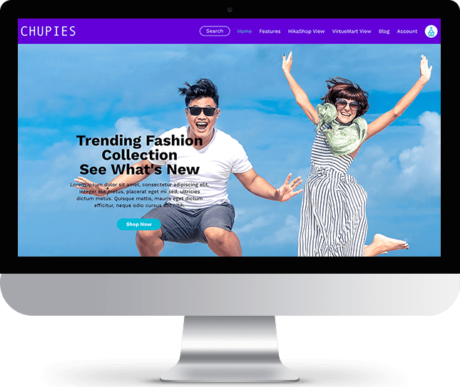 Chupies - Joomla! Template for HikaShop & VirtueMart