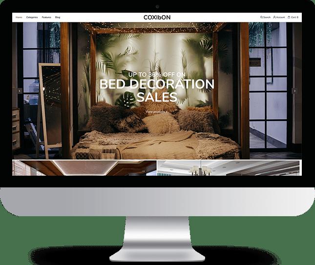 Coxibon - Joomla! Template for HikaShop & VirtueMart