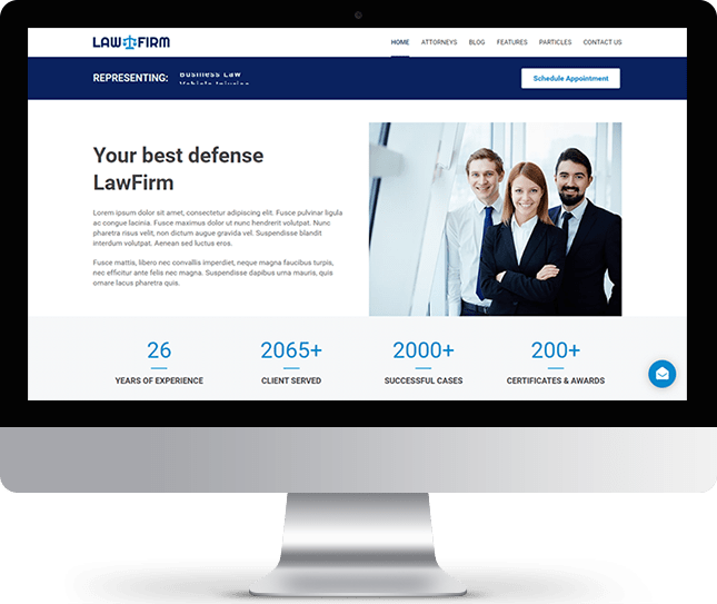 LawFirm (WordPress) - WordPress Theme for Law Firms and Attorneys