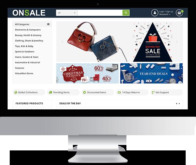 OnSale - Joomla! Template for HikaShop & VirtueMart