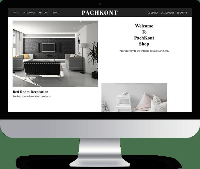 Pachkont - Joomla! Template for HikaShop & VirtueMart