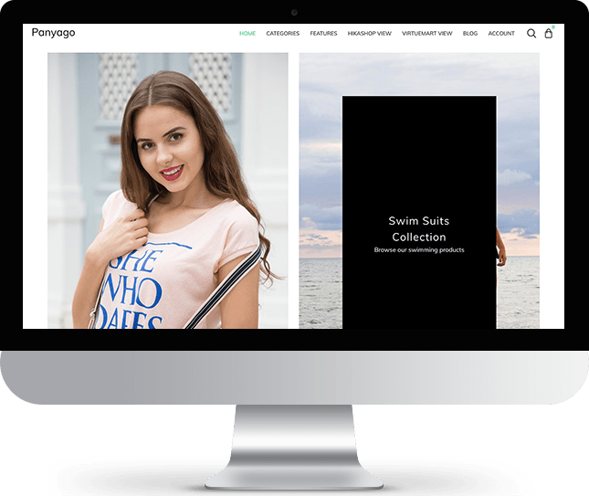 Panyago - Joomla! Template for HikaShop & VirtueMart